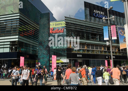 Westfield Shopping Centre in Stratford  London, UK.   HOMER SYKES - Stock Photo