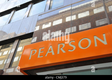 Holborn, London, UK. 14th August 2012. Offices of Pearson, the education and publishing group is to open 'Pearson - Stock Photo