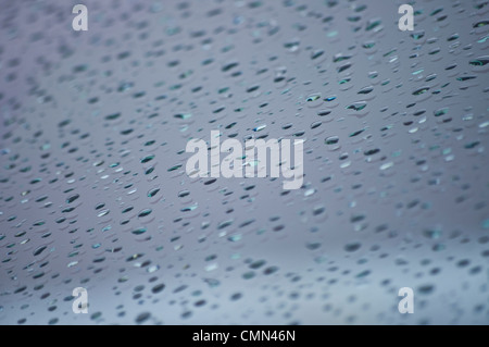 raindrops rain drops falling on water in pond stock photo 15986321 alamy. Black Bedroom Furniture Sets. Home Design Ideas