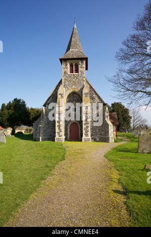 St Peters church Oare near Faversham in Kent - Stock Photo