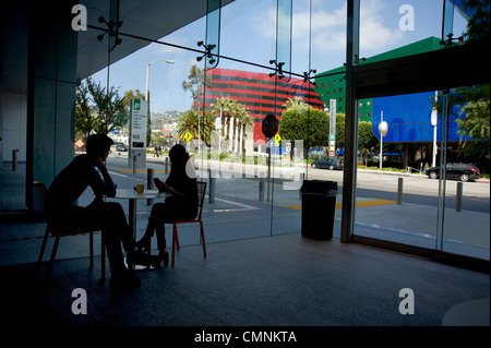 The Pacific Design Center complex in West Hollywood - Stock Photo