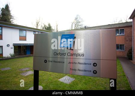 EF International Academy Campus in Oxford, England, UK - Stock Photo