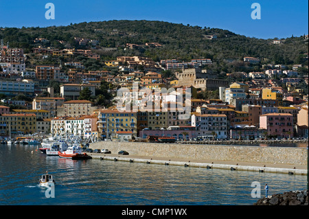 Porto Santo Stefano, Monte Argentario, Grosseto, Tuscany, Italy - Stock Photo