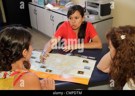 Peru, Tacna, Calle San Martin, travel traveling agency, sales, Hispanic Hispanics Latin Latino Latinos ethnic ethnics - Stock Photo