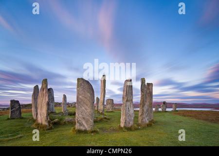 The Lewisian gneiss stone circle, Isle of Lewis, Outer Hebrides, Scotland, United Kingdom, Europe - Stock Photo