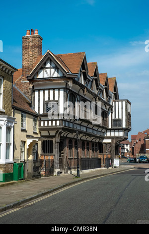 Tudor House Museum and gardens are Southamptons most important historic building. - Stock Photo