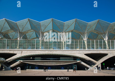 Estacao do Oriente long distance bus station Parque das Nacoes the Park of Nations area Lisbon Portugal Europe - Stock Photo