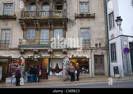 Praca da Republica square central Sintra Portugal Europe - Stock Photo