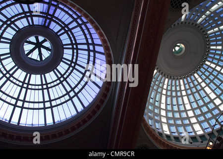 Glass domes of Manchester Royal Exchange Theater. - Stock Photo