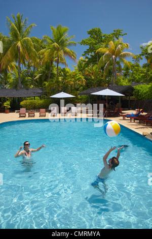 Swimming pool tanoa international hotel nadi viti levu - Jubilee hills international swimming pool ...