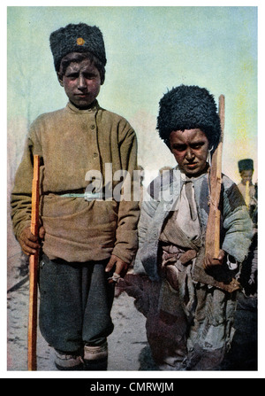1919 Republic of Armenia Boy Scouts - Stock Photo
