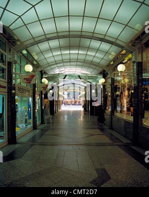 Einkaufspassage, Corsopassage in Dortmund, Ruhrgebiet, Nordrhein-Westfalen - Stock Photo