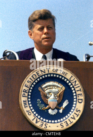 JOHN FITZGERALD KENNEDY  (1917-1963)  35th US President - Stock Photo