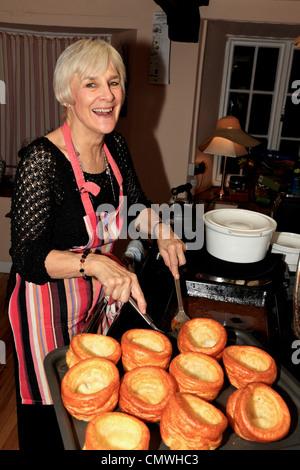 3714. Yorkshire Puddings, UK - Stock Photo