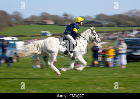 Grand National, Scurry, Apse Heath, Ryde, Isle of Wight England UK - Stock Photo