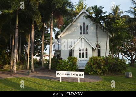 The historic St Mary's by the Sea church. Port Douglas, Queensland, Australia - Stock Photo