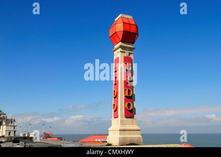 Lido in Cliftonville, near Margate, Kent, England - Stock Photo