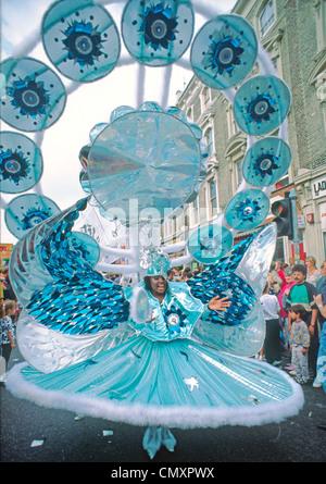 London, Notting Hill carneval - Stock Photo
