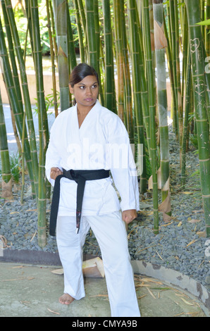 Karate in the park - Stock Photo