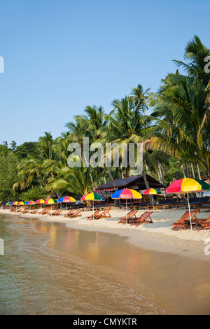 Thailand, Trat Province, Koh Chang, Khong Koi Beach - Stock Photo