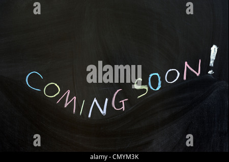 Conceptional chalk drawing - Coming soon