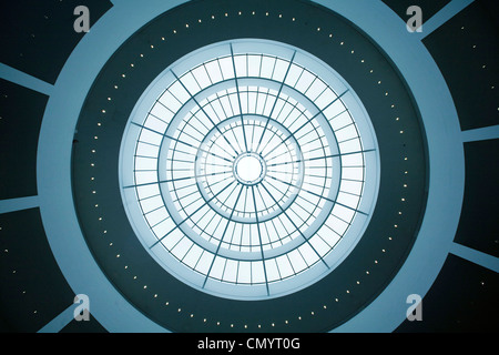 The Ceiling of New Pinakothek, Museum of Modern Art in Munich, Germany - Stock Photo