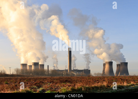 Coal Fired Power Station, Fiddlers Ferry, England