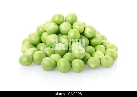 Green peas pile - Stock Photo
