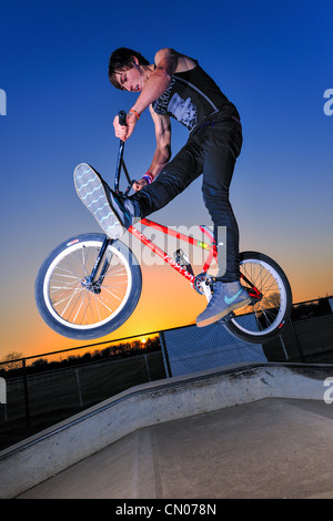 BMX Freestyle - Stock Photo
