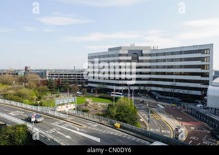Manchester Airport Terminal 3 - Stock Photo