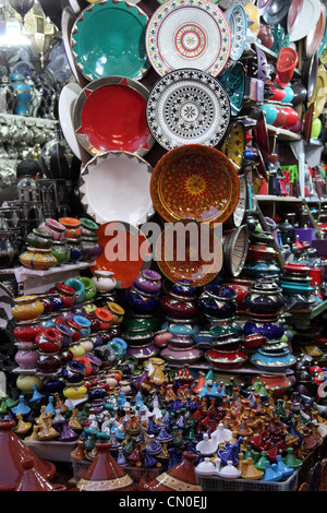 Moroccan Market Stall - Stock Photo