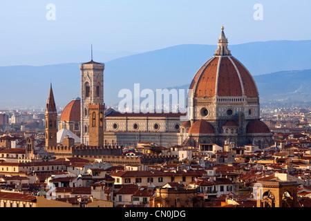Florence, Duomo Santa Maria del Fiore - Stock Photo