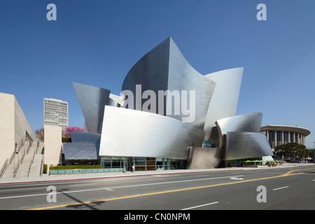 Walt Disney Concert Hall, Los Angeles - Stock Photo