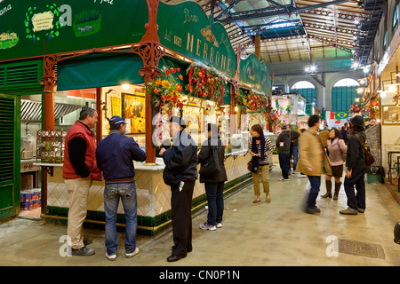 Italy, Florence, Mercato Centrale - Stock Photo