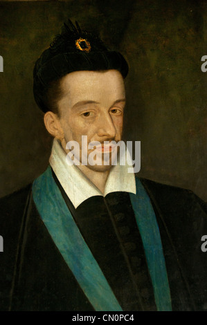 Henri III king of France 1551 1589 by Francois Quesnel - Stock Photo