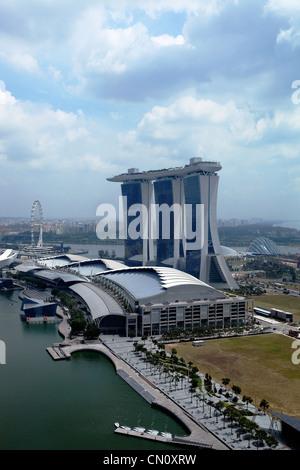 Marina Bay Sands Resort and Casino, Singapore - Stock Photo