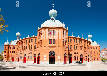 Campo Pequeno bullring or Praça de Touros, Lisbon, Portugal - Stock Photo