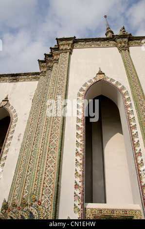 Thailand, Bangkok. The Grand Palace, established in 1782. Scripture Library. - Stock Photo