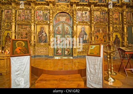 RUSSIA Uglich Russian Orthodox Church of the Nativity of St John the Baptist (1690) - Stock Photo
