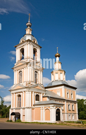 RUSSIA Uglich Russian Orthodox Church of the Kazan icon of the Mother of God - Stock Photo