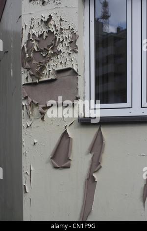 Facade damage defect - Stock Photo