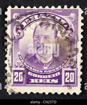Brazilian postage stamp - Stock Photo