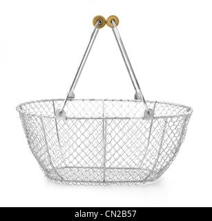 Wire basket - Stock Photo