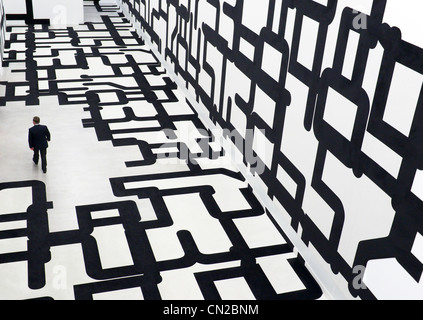 Berlinische Galerie modern art museum in Berlin Germany - Stock Photo