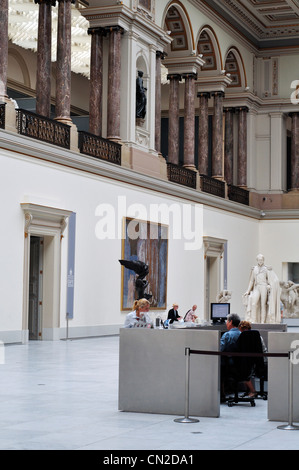 Belgium, Brussels, Royal Museums of Fine Arts of Belgium, Interior View - Stock Photo