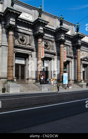 Belgium, Brussels, Royal Museums of Fine Arts of Belgium - Stock Photo