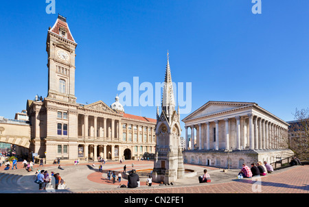 Birmingham Museum and Art Gallery Town Hall  Chamberlain square birmingham city centre west midlands England UK - Stock Photo
