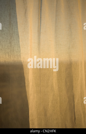 Curtain, close up - Stock Photo