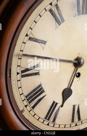 Clock face, close up - Stock Photo