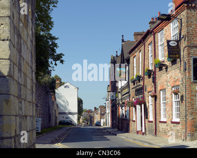 The Minster Inn opposite the City Walls Marygate York North Yorkshire England UK United Kingdom GB Great Britain - Stock Photo